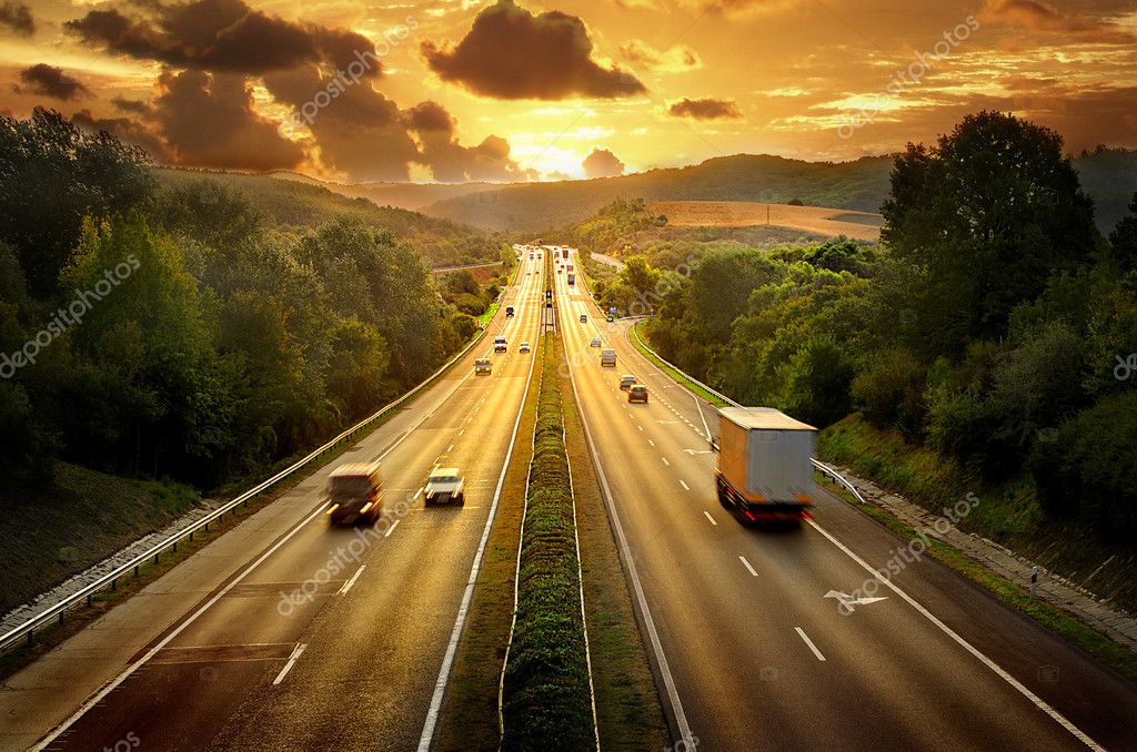 Depositphotos 13321058 Stock Photo Sunset Road New Roads Consultoria